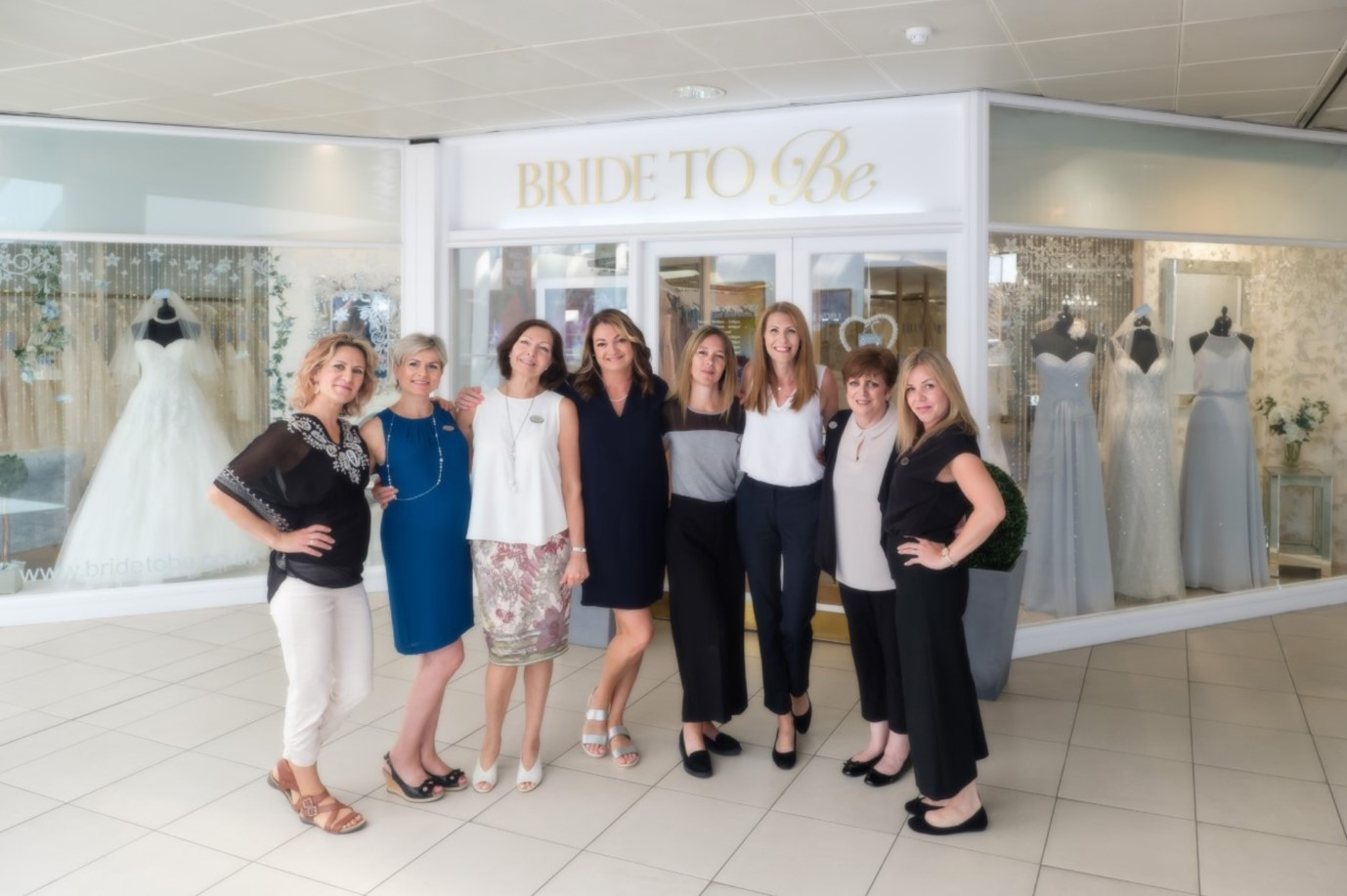 The Bride to Be team