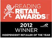 Award - Reading Retail Awards - Independent Retailer of the Year