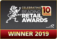 Award - Reading Retail Awards - Winner